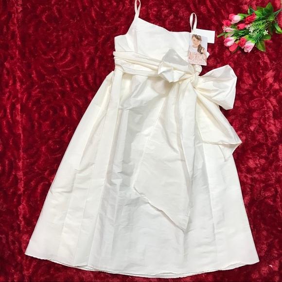 Us Angels Other - Us Angels Big Girls Taffeta Empire Dress With Sash
